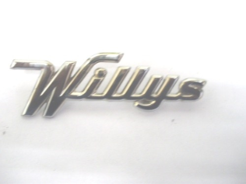 Emblema Willys