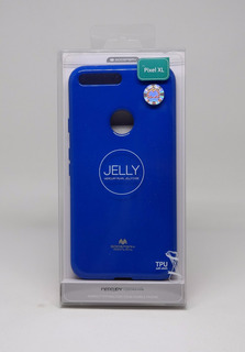 Funda Google Pixel Xl Mercury Goospery Jelly Case Azul