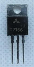 2 X 2sc2166 Mitsubish To-220 11+ Transistor Npn