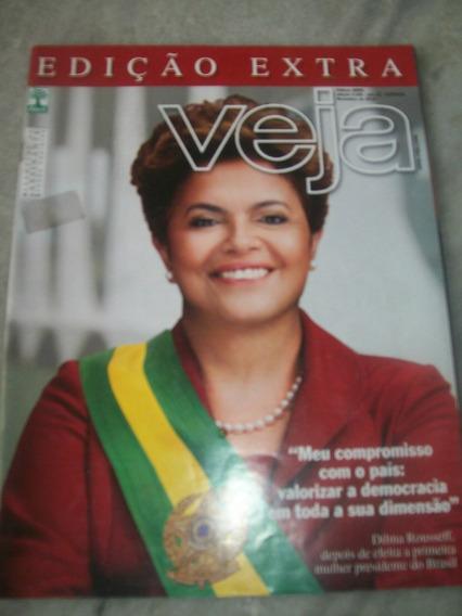 Veja Edição Extra C/ Dilma Rousseff - Nº 2189 De 11/2010
