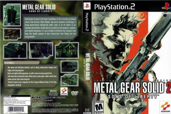 Metal Gear Solid 2 Original Para Playstation 2