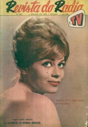 Revista Do Rádio 553 Abr 1960 Carmem Miranda Leny Eversong
