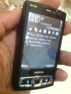 Celular Nokia N95 8gb Black Tec 3g Wi-fi Gps 5mpix Original