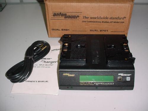 Carregador Anton Bauer Dual 2401 Inter Active 2000