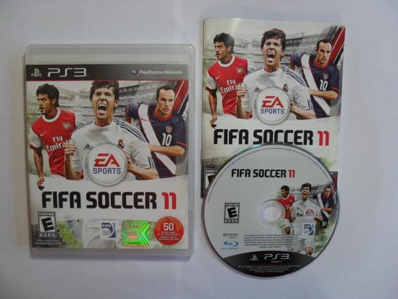 Fifa Soccer 11 - Playstation 3 Americano Completo