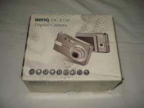 Câmera Digital Benq Modelo Dc E720 - Segue Sem Bateria