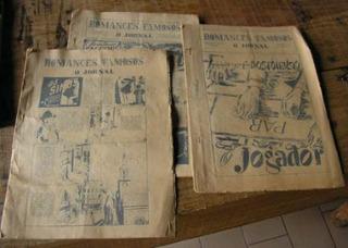 3 Exemplares Romances Famosos - O Jornal - Antigos Hq