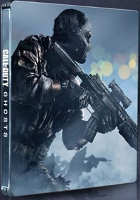 Call Of Duty Ghosts Ps3 Steelbook (case Metálico) Lacrado!