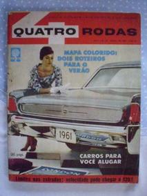Revista 4 Quatro Rodas Nº 6 Janeiro De 1961 Super Inteira