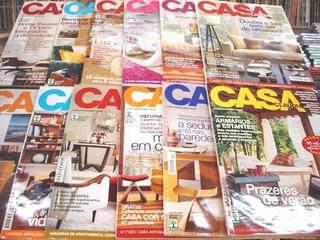 Lote De 12 Revistas Casa Claudia - Ano 2005 Completo
