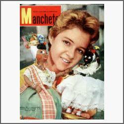 Manchete Nº 387: Luta-livre - Martine Carol - Villa-lobos