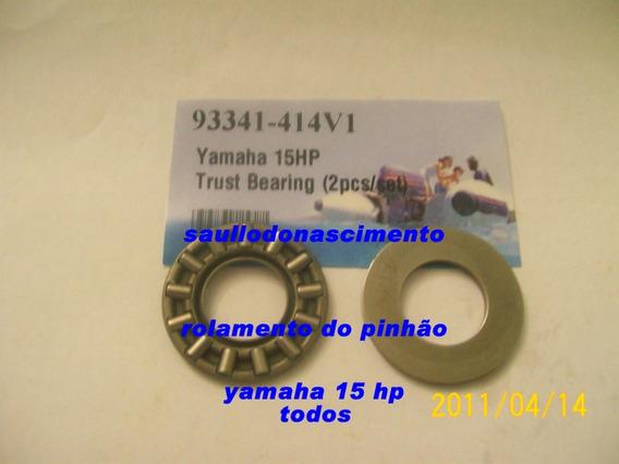 Rolamento De Encosto Do Pinhão Yamaha 15 Hp 93341-414v1
