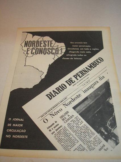 ( L - 290 ) Propaganda Antiga Jornal Diário De Pernambuco