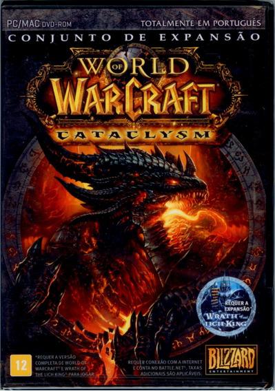 Jogo Pc World Of Warcraft Cataclysm En
