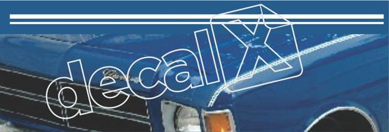 Kit Adesivo Friso Faixa Lateral Chevrolet Caravan Cfl001
