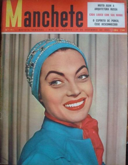 Manchete De Dezembro De 1955 Com Encarte Do Rca