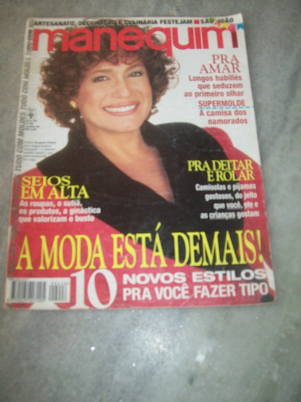 Suzana Vieira - Manequim Nº 426 De 06/95, Sem Moldes
