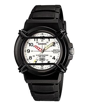 Relógio Casio Hda-600b-7bv Visor Branco Frete Grátis