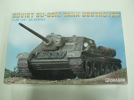 Tanque Dragon P/armar Soviet Su Destroyer 1/35 Kit 6096