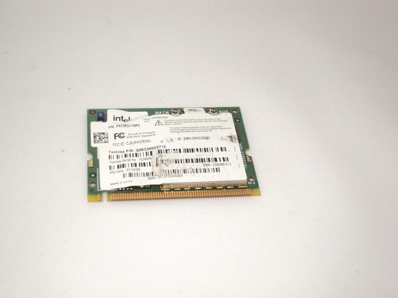Placa Mini Pci Wireless Notebook Toshiba M55 Pa3362u-1mpc