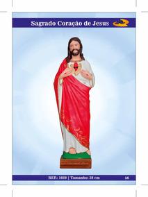 Imagens De Santos Católicos - Sagrado Coração De Jesus