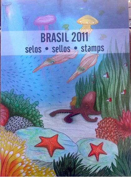 V-8510 - 2011 - Album De Selos Do Brasil - Sem Selos