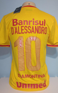Camisa Amarela Nike Original Do Internacional D
