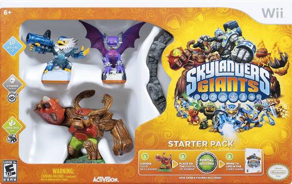 Box Lacrado Skylanders Giants Para Nintendo Wii