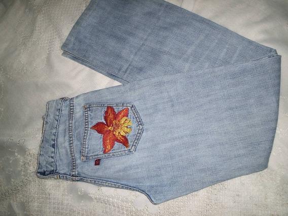 Calça Jeans Bordada Forum Tamanho 38