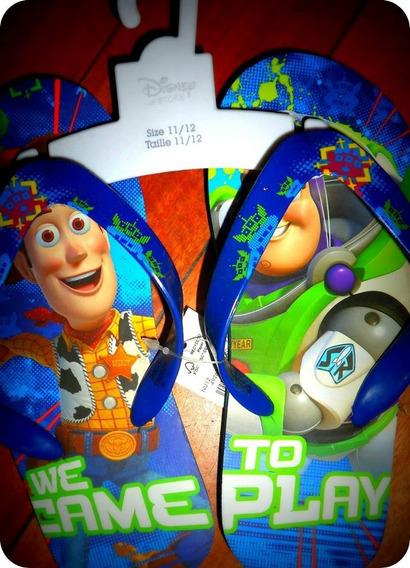 Ojotas Nene Toy Story - Buzz Y Woody Disney Store