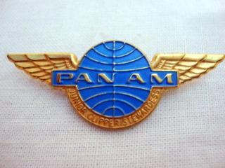 Broche Da Antiga Pan Am-raridade Vintage