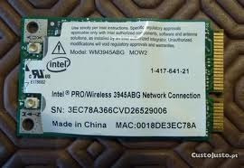 Placa Wireless Vaio Pcg-6p2l Mod. Wm3945abg