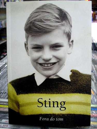Sting Biografia Fora Do Tom - Livro