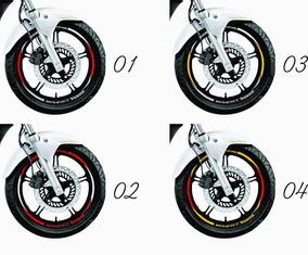 Friso Adesivo Refletivo Roda Moto Honda Cb 300r