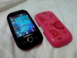 Samsung Corby Gt-s3650 Original T.touth Rosa C/preto.. Lindo