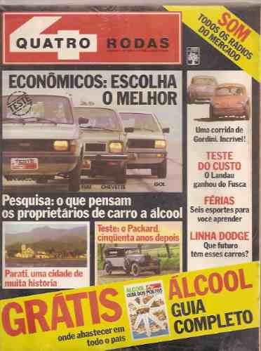 Revista Quatro Rodas - Econômicos: Escolha O Melhor