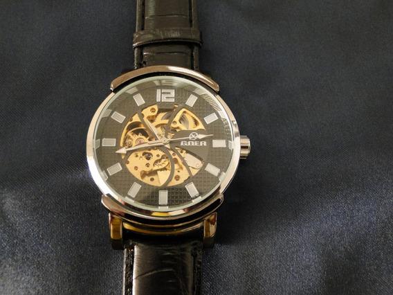 Relógio Goer - Esqueleto - Automático - Skeleton - Novo