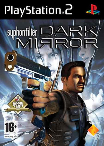 Game - Syphon Filter: Dark Mirror -ps2 - Original - Lacrado!