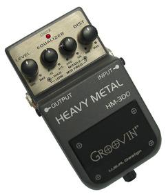 Pedal Heavy Metal Groovin Para Guitarra Hm 300