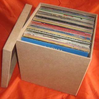Kit 2 Caixas Para Disco / Lp / Vinil Pague Com Cartão