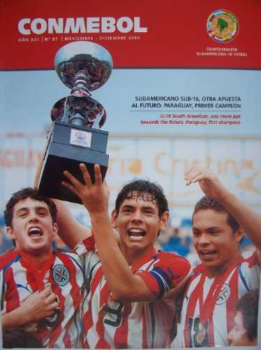 C1 - Revista Conmebol Nº 87 Nov / Dec 2004