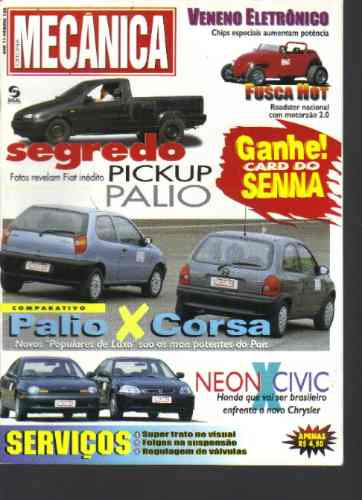 Revista Oficina Mecânica Nº 120-ano 11-palio X Corsa-sisal