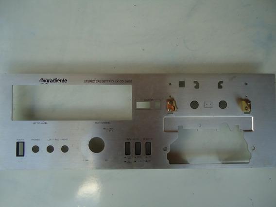 Painel Para Reforma Tape Deck Gradiente Cd 2800