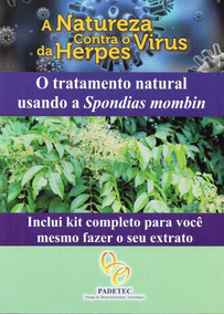 Kit E Livreto - A Natureza Contra O Virus Da Herpes