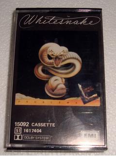 Whitesnake Problema Cassette Argentino / Kktus