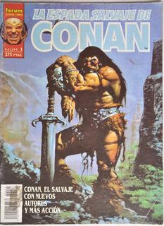 Conan Barbaro N 1 Forum Comics 1996 Espada Salvaje Serie Oro