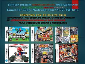 Nds Ultra Patch Com 100 Jogos De Nintendo Ds Frete Único