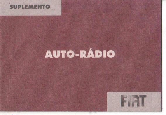 Manual Proprietario Som Auto Rádio Fiat Versao Mid / Connect