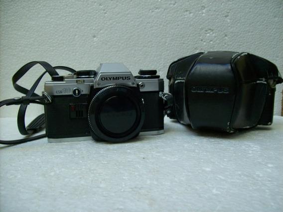 Camera Fotográfica Olympus Mod. Om 10 C/lentes E, Zuiko