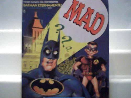 Revista Mad Nº 115 / Batman Eternamente / Record Julho 1995